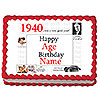 1940 PERSONALIZED ICING ART PARTY SUPPLIES