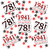 1941 - 78TH BIRTHDAY DECO FETTI PARTY SUPPLIES