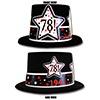 1941 - 78TH BIRTHDAY TOP HAT PARTY SUPPLIES
