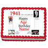 1941 PERSONALIZED ICING ART PARTY SUPPLIES