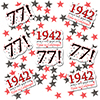 1942 - 77TH BIRTHDAY DECO FETTI PARTY SUPPLIES