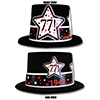 1942 - 77TH BIRTHDAY TOP HAT PARTY SUPPLIES