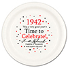 1942 - BIRTHDAY DINNER PLATE PARTY SUPPLIES