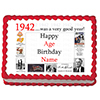 1942 PERSONALIZED ICING ART PARTY SUPPLIES