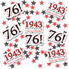 1943 - 76TH BIRTHDAY DECO FETTI PARTY SUPPLIES