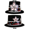 1943 - 76TH BIRTHDAY TOP HAT PARTY SUPPLIES