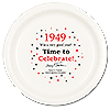 1949 TIME TO CELEBRATE DINNER PLATE PARTY SUPPLIES