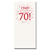 1949 - 70TH BIRTHDAY DINNER NAPKIN PARTY SUPPLIES