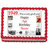 1949 PERSONALIZED EDIBLE ICING IMAGE PARTY SUPPLIES