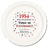 1954 TIME TO CELEBRATE DINNER PLATE PARTY SUPPLIES
