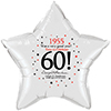 1955 - 60TH STAR BALLOON PARTY SUPPLIES