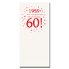 1959 - 60TH BIRTHDAY DINNER NAPKIN PARTY SUPPLIES
