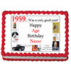 1959 PERSONALIZED EDIBLE ICING IMAGE PARTY SUPPLIES