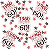 1960 60TH BIRTHDAY DECO-FETTI PARTY SUPPLIES
