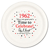 1962 - BIRTHDAY DINNER PLATE PARTY SUPPLIES