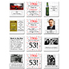 1966 - 53RD BIRTHDAY COASTER PARTY SUPPLIES