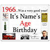 1966 CUSTOMIZED DOOR POSTER PARTY SUPPLIES