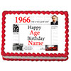1966 PERSONALIZED ICING ART PARTY SUPPLIES