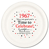 1967 - BIRTHDAY DINNER PLATE PARTY SUPPLIES