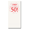 1969 - 50TH BIRTHDAY DINNER NAPKIN PARTY SUPPLIES