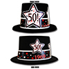1969 - 50TH BIRTHDAY TOP HAT PARTY SUPPLIES