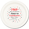 1969 - BIRTHDAY DINNER PLATE PARTY SUPPLIES