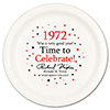1972 - BIRTHDAY DINNER PLATE PARTY SUPPLIES