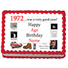 1972 PERSONALIZED ICING ART PARTY SUPPLIES
