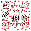 1973 - 46TH BIRTHDAY DECO FETTI PARTY SUPPLIES