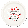1974 - TIME TO CELEBRATE DINNER PLATE PARTY SUPPLIES