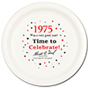 1975 - BIRTHDAY DINNER PLATE PARTY SUPPLIES