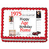 1975 PERSONALIZED ICING ART PARTY SUPPLIES