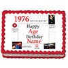 1976 PERSONALIZED ICING ART PARTY SUPPLIES