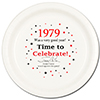 1979 - BIRTHDAY DINNER PLATE PARTY SUPPLIES
