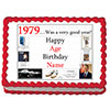1979 PERSONALIZED EDIBLE ICING IMAGE PARTY SUPPLIES