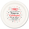 1982 - BIRTHDAY DINNER PLATE PARTY SUPPLIES