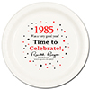 1985 - BIRTHDAY DINNER PLATE PARTY SUPPLIES