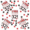 1988 32ND BIRTHDAY DECO-FETTI PARTY SUPPLIES
