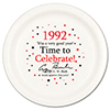 1992 - BIRTHDAY DINNER PLATE PARTY SUPPLIES