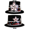1994 - 25TH BIRTHDAY TOP HAT PARTY SUPPLIES