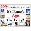 1994 CUSTOMIZED DOOR POSTER PARTY SUPPLIES