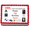 1995 PERSONALIZED ICING ART PARTY SUPPLIES