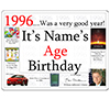 1996 CUSTOMIZED DOOR POSTER PARTY SUPPLIES