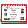 1997 PERSONALIZED ICING ART PARTY SUPPLIES