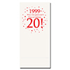 1999 - 20TH BIRTHDAY DINNER NAPKIN PARTY SUPPLIES