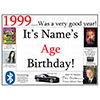 1999 CUSTOMIZED DOOR POSTER PARTY SUPPLIES