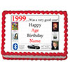 1999 PERSONALIZED EDIBLE CAKE IMAGE PARTY SUPPLIES