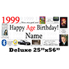 1999 DELUXE PERSONALIZED BANNER PARTY SUPPLIES