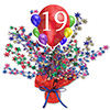 19TH BALLOON BLAST CENTERPIECE PARTY SUPPLIES