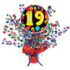 19TH BIRTHDAY BALLOON CENTERPIECE PARTY SUPPLIES